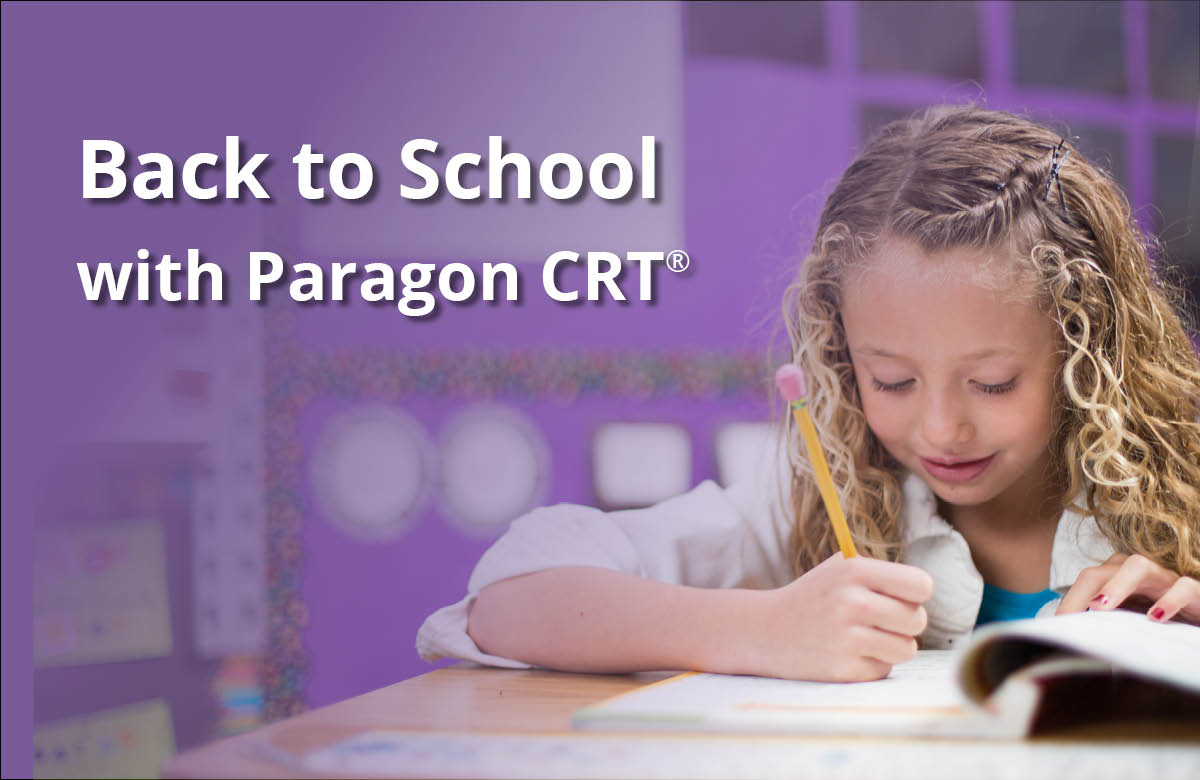 back to school with PCRT